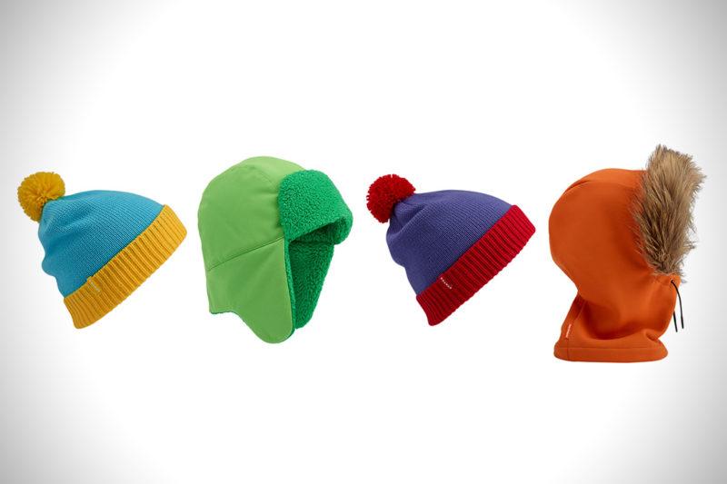 BURTON X South Park kollekció