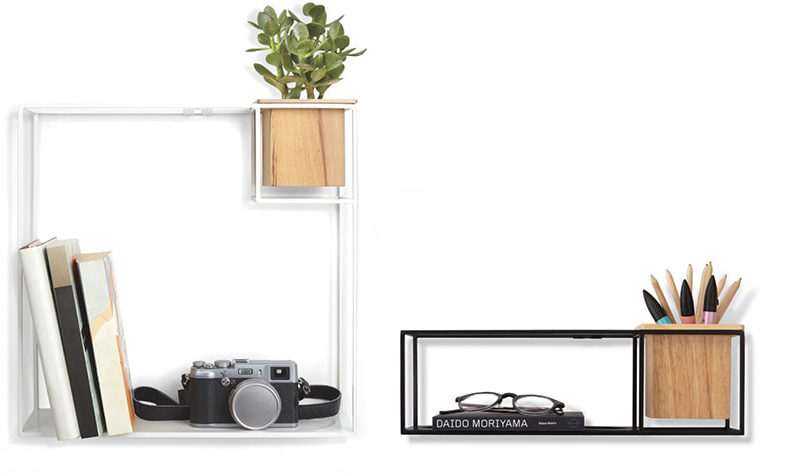 Izgalmas minimalista polc magyar származású designertől