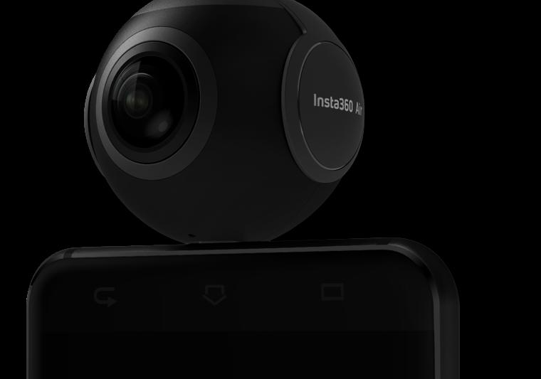 Insta360 Air 360 fokos kamera Androidos mobilokhoz