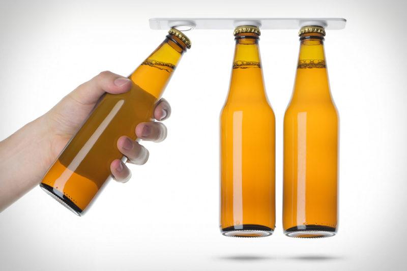 Ha elegánsan akarod hűteni a sört: BottleLoft mágneses sörtartó
