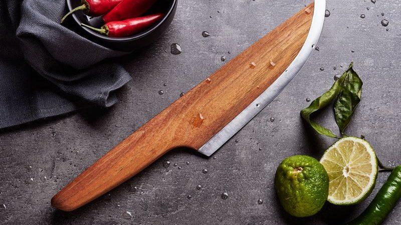 //SKID kés – 97% fa, 3%acél