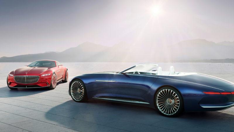 Menőbb, mint egy magánrepülő – Mercedes Maybach 6 Cabriolet koncepció autó [videóval]